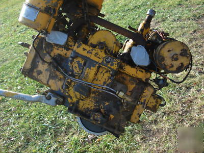Caterpillar D4 7u Pony Motor