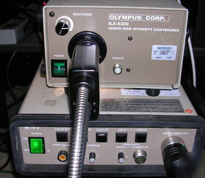 Olympus IV12D2-60 videoimage borescope system, working