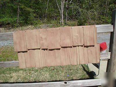 Nailite Hand Split Shake Vinyl Siding In Cedar 17 Boxes