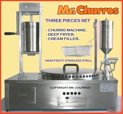 Churrera churro churros heavy-duty churro maker set