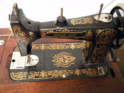 Damascus Grand Rotary Treadle Sewing Machine Cool Damascus Sewing Machine